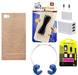 Mify Mobile Accessories Combo for Xiaomi Mi 3, Golden