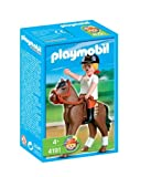 プレイモービル 動物 女性騎手 4191