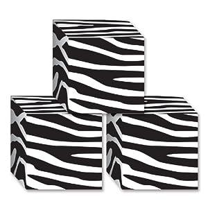 Beistle Zebra Print Favor Boxes
