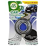 Air Wick Car Filters & Freshens Air Freshener, Vent Clip, New Car & Ocean Drive Fragrance, 0.1 fl oz (3 ml)