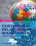img - for Customer Relationship Management: Concepts and Technologies 3rd edition by Buttle, Francis, Maklan, Stan (2015) Paperback book / textbook / text book