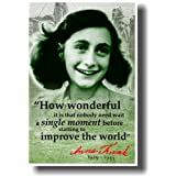 Anne Frank quote poster