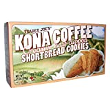 Trader Joe's Kona Coffee Creamy Half-Dipped Shortbread Cookies