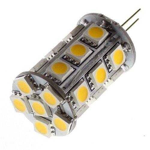 How Nice Gy6.35 Base Led 24 3W Smd 5050 Warm White Light Bulb For Automotive, Cabinets, Marine Lighting