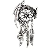 Dragon Dream Guardian Pendant Necklace Bohemian Viking Charm Women Necklace Jewelry