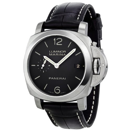 Panerai Luminor Marina 1950 Automatic Black Dial Stainless Steel Mens Watch PAM00392