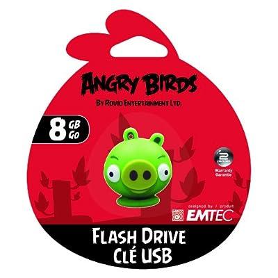 EMTEC Angry Birds A106 8GB USB 2.0, Minion Pig (EKMMD8GA105)