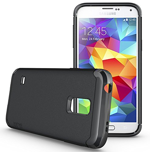TUDIA LITE TPU Bumper Protective Case for Samsung Galaxy S5 Mini For S5 Mini Version ONLY (Black) (Galaxy S5 Mini Case compare prices)