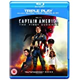 Captain America - The First Avenger: Triple Play (Blu-ray + DVD + Digital Copy) [2011]by Chris Evans