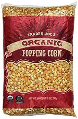 Trader Joe's Organic Popping Corn 28 oz ( 1 lb 12 oz )794g from Trader Joe's