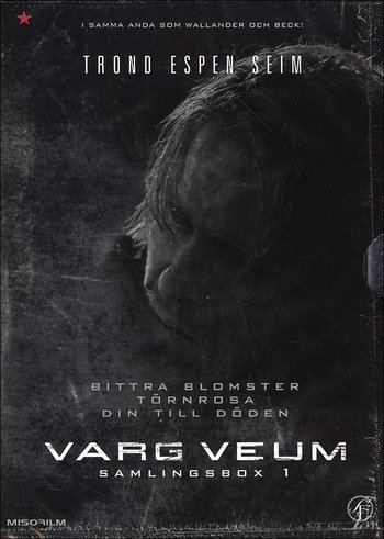 Varg Veum Box 1 (Bitre Blomster- Bitter Flowers) (Tornerose - Sleeping Beauty) (Din til døden - Until Death) (Region 2) (Import)