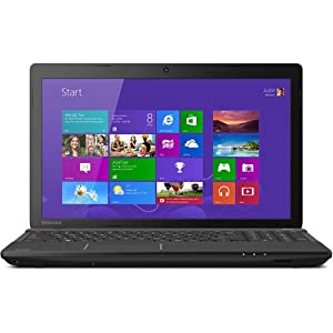 "Toshiba Satellite C55D-A5120 Laptop Computer - 15.6"" HD Widescreen LED Screen 1366x768, AMD Quad-Core E2-3800 (1.3 GHz) Processor, 4GB DDR3 Memory, 500GB Hard Drive, AMD Radeon HD 8280 Graphics, DVD-SuperMulti drive, Webcam, Window 8.1 - Black (Certified"