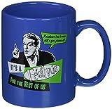 ICUP Festivus for The Rest of Us Ceramic Mug, 11 oz, Clear