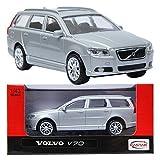 RASTAR VOLVO V70 Silver 1:43 ダイキャストカーミニ車のおもちゃ [並行輸入品]
