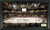 "Boston Bruins Signature Rink Framed 12"" x 20"" Photograph from The Highland Mint"