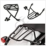 TCMT Black Solo Detachable Luggage Rack For Harley Sportster 1200 Iron 883 2004-2017
