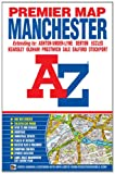 img - for Manchester Premier Map (A-Z Premier Street Maps) book / textbook / text book