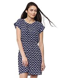 Prym Women's Tulip Dress (1011506305_Blue Mix1_Large)