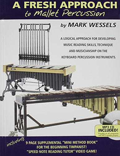 Mark Wessels A Fresh Approach To Mallet Percussion Bk/Cd/Dvd