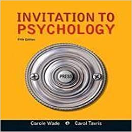 Invitation To Psychology 5Th Edition with great invitation layout