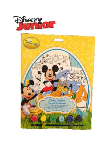 Disney Mickey Mouse Springtime Easter Paint Set