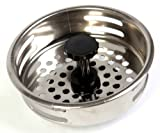 Good Living Stainless Steel Sink Strainer, 3-Pack