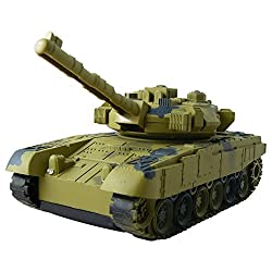 Aroha Toys Remote Control Army Tank With Light and Sound