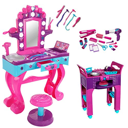 Toy Hair Salon : Awardpedia disney frozen crystal kingdom vanity