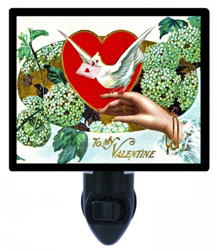 Valentines Day Night Light - To My Valentine - Vintage front-186651