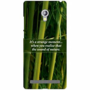Asus Zenfone 6 A601CG Back Cover - Its Always Nice Designer Cases