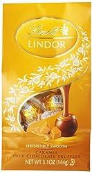 Lindt LINDOR Caramel Milk Chocolate Truffles ,5.1 Ounce