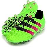 [アディダス] adidas サッカーシューズ エース 16.1-ジャパン HG AF5103 AF5103 (ソーラーグリーン/ショックピンク S16/コアブラック/28.0)