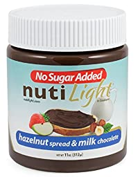 NUTILIGHT Hazelnut Spread and Milk Chocolate