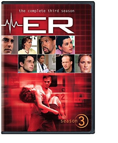 DVD : ER: The Complete Third Season (, Repackaged, Widescreen, 6 Disc)