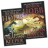 Robin Hobb Robin Hobb 2 Books Rain Wilds Chronicles Collection Pack Set (Dragon Keeper, Dragon Haven)