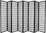 Legacy Decor 8-Panel Japanese Oriental Style Room Screen Divider