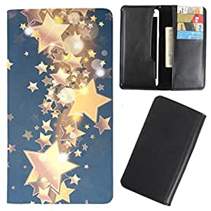 DooDa - For Karbonn A8 Plus PU Leather Designer Fashionable Fancy Case Cover Pouch With Card & Cash Slots & Smooth Inner Velvet