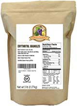 Anthony39s Erythritol Granules Made in the USA 5lb Natural Sweetener Certified Gluten-Free
