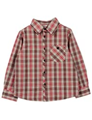Small Check Shirt Red Check - B00MPPGLRE