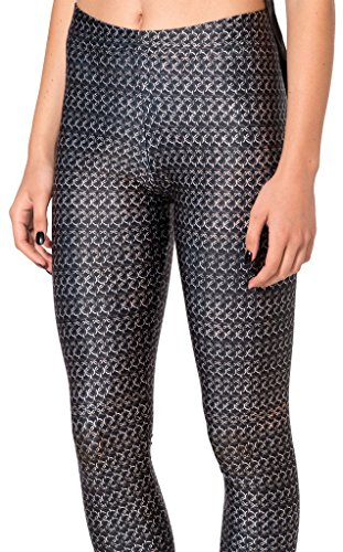 qzunique-womens-black-maxmara-print-high-waist-shaping-breathable-stretch-leggings