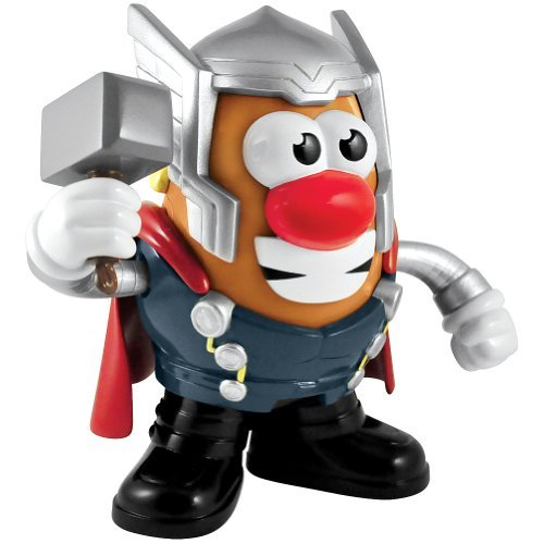 Thor Mr Potato Head: Marvel Avengers Superhero Hammer - Classic With A Twist front-67529