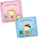 Ladybird Potty Training for Boys and Girls 2 Books Collection Pack Set RRP: �13.98 (Princess Polly's Potty, Pirate Pete's Potty)by Ladybird Andrea...