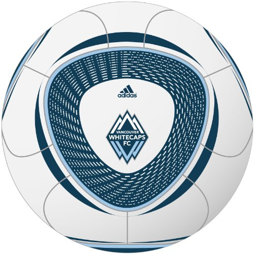 Adidas MLS Vancouver Whitecaps Tropheo Soccer Ball