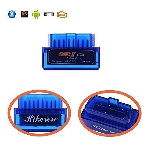 Cheap OBD2,Hikeren MINI Bluetooth OBD2 OBDII Car Diagnostic Scan Tool /OBDii Code Reader Adapter Che...