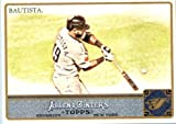 2011 Topps Allen & Ginter GLOSSY Edition Baseball Card (#'d out of 999) #175 Jose Bautista Toronto Blue Jays In a