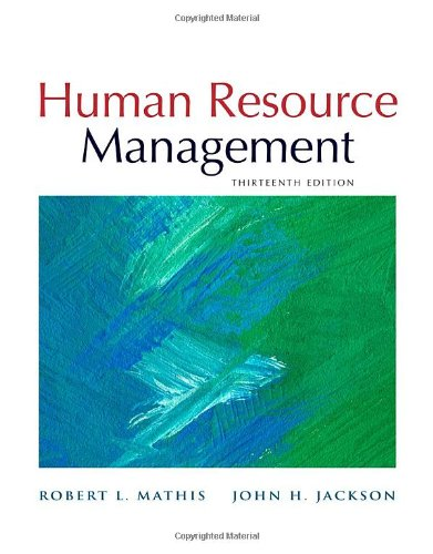 Human Resource Management, 13Th Edition