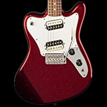Fender Pawn Shop Super-Sonic Electric Guitar - Apple Red Flake - Used