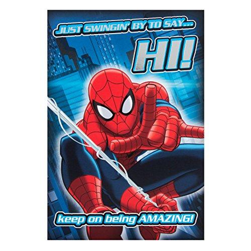 hallmark-biglietto-d-auguri-di-compleanno-spiderman-swinging-by-misura-media