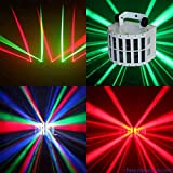 1pc Mini LED Double Derby Light for STUDIO club part stage KTV dance bar liminaires theatre cyclorama illuminacion lighting