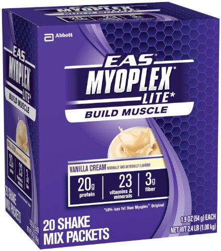 EAS Myoplex Lite Nutrition Shake, Vanilla Cream,